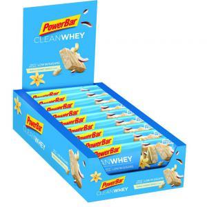 Pack 18 Barritas Energéticas POWERBAR Clean Whey Vainilla Coco