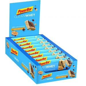 Pack 18 Barritas Energéticas POWERBAR Clean Whey Cookies Cream