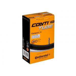 Cámara CONTINENTAL Compact 14x1 1/4-1.75 Valvula Dunlop 26 mm