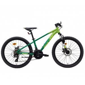 Bicicleta Infantil MONTY KX7D Verde/Amarillo 24