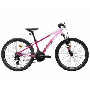 Bicicleta Infantil MONTY KX7 Rosa/Blanco 24