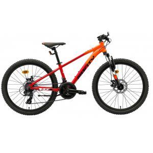 Bicicleta Infantil MONTY KX7D Naranja/Rojo 24