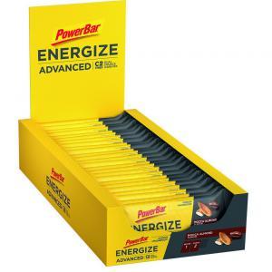 Pack 25 Barritas Energéticas POWERBAR Energize Advanced Mocca Almond