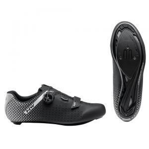 Zapatillas Carretera NORTHWAVE Core Plus 2 Negro/plata