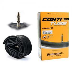 Cámara CONTINENTAL Compact 24x1 1/4-1.75 Válvula Dunlop 40 mm