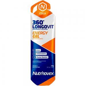 Pack 24 Geles NUTRINOVEX Longovit 360 Cola