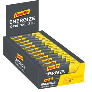 Pack 25 Barritas Energéticas POWERBAR Energize Original Banana Punch