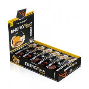 Pack 24 Barritas Energéticas INFISPORT Chocolate Blanco / Lima Limon