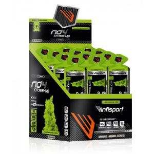 18 Sobres INFISPORT Gel ND4 Cross Up Manzana