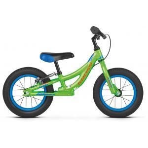Bicicleta Infantil Sin Pedales KROSS Kido Verde/Naranja/Azul