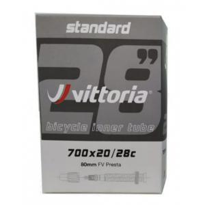 Cámara 700x20/28C VITTORIA Standard Presta 80mm