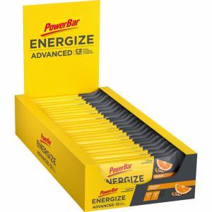 Pack 25 Barritas Energéticas POWERBAR Energize Advanced Naranja