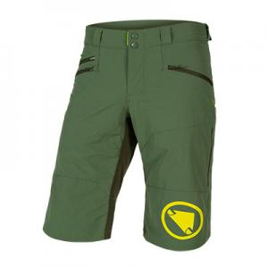 Pantalón corto ENDURA Short Singletrack II Verde