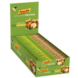 Pack 24 Barritas Proteina POWERBAR Banana Chocolate