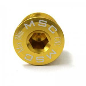 Tornillo Bielas Integradas / Shimano Dura Ace MSC Oro