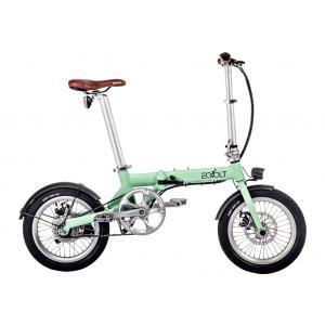 Bicicleta Plegable EOVOLT City 4 Speed Verde