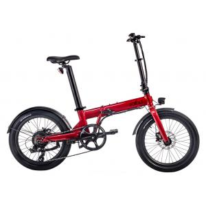 Bicicleta Plegable EOVOLT Confort Roja