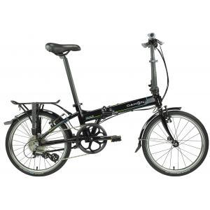 Bicicleta Plegable DAHON Mariner D8 Negra