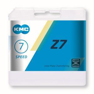 Cadena KMC Z7 Gris/Marrón 7v 114 Eslabones