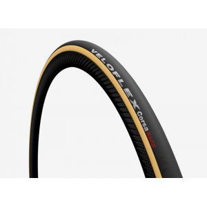 Tubular VELOFLEX Corsa Race Negro/Marrón