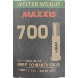 Cámara MAXXIS Welter Weight 700x33/50 Schrader 48mm