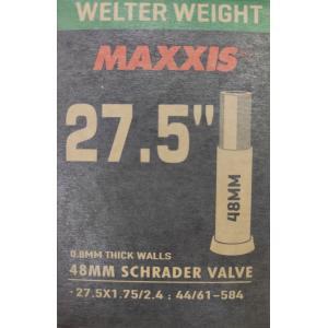 Cámara MAXXIS Welter Weight 27.5x1.75/2.40 Schrader 48mm