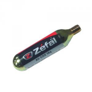 Cartucho de Aire Zefal CO2 Con Rosca 16grs