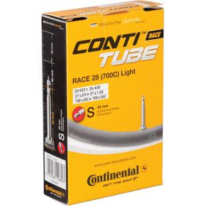 Cámara Carretera Continental Race Light 700x20-25 Válvula 42mm