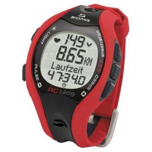 Pulsómetro Sigma Running RC 1209 Rojo