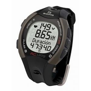 Pulsómetro Sigma Running RC 1209 Gris